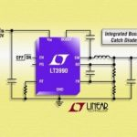 Convertisseur abaisseur, 2,2 MHz, 60 V, sortie 350 mA, repos 2,5 µA