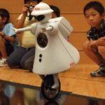 Le robot Murata améliore sa technique d'unicycle