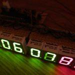 Horloge numérique 8 chiffres