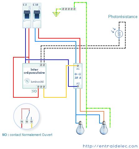 D coration de la maison cablage electrique interrupteur lampe for Telecommande eclairage exterieur legrand