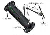 Un robot qui se transforme en hélicoptère