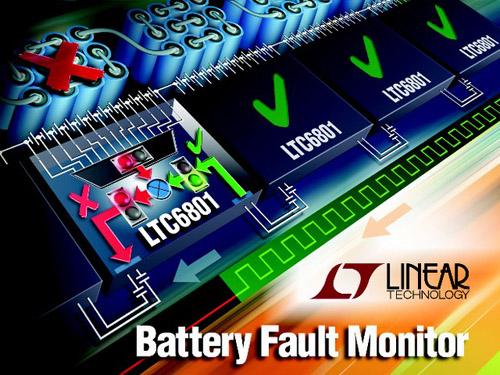 gestionnaire de faute pour les batteries d'accumulateurs de forte tension
