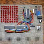 Badge/Boucle de ceinture Matrice de led 8×8 à PIC