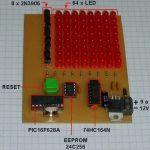 Matrice de LED de 8 lignes et 8 colonnes