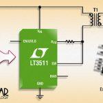 Régulateur à récupération d'énergie, monolithique, isolé, 100 V