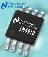 LM4910 amplificateur pour casque stéréo