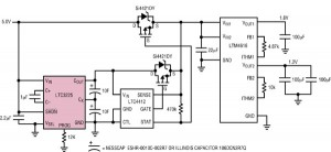 Des supercondensateurs remplacent les batteries des alimentations de secours