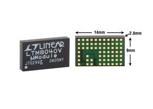 Figure 6. Avec seulement ses 9mm ? 15mm ? 4,32mm, le pilote de LED LTM8040 est un système complet dans un boîtier LGA