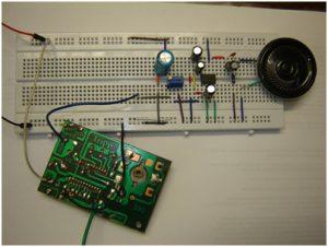 Réaliser un récepteur FM et un amplificateur audio utilisant LM386