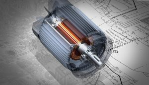 Schéma de démarrage d'un moteur asynchrone deux sens de marche