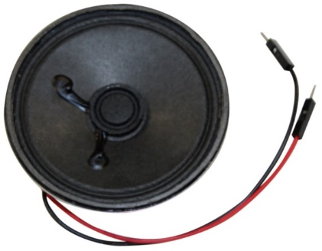 Figure2. Un petit haut-parleur issu du kit d'accessoires ADALP2000.