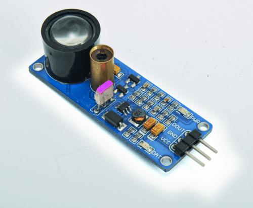 Construire un détecteur d'obstacle laser